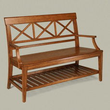 Traditional Indoor Benches by Ethan Allen