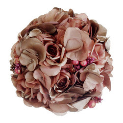 Silk Plants Direct - Silk Plants Direct Rose, Hydrangea and Berry Ball Ornament (Pack of 6) - Pack of 6. Silk Plants Direct specializes in manufacturing, design and supply of the most life-like, premium quality artificial plants, trees, flowers, arrangements, topiaries and containers for home, office and commercial use. Our Rose, Hydrangea and Berry Ball Ornament includes the following: