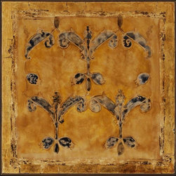 Paragon Decor - Andante II Artwork - Exclusive Hand Painted with Metallic Leaf on Canvas