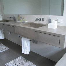 Contemporary Bathroom Countertops by JM Lifestyles