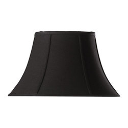 Home Decorators Collection - Home Decorators Collection Lamp Shades Bell Small 14 in. Diameter Black Linen - Shop for Lighting & Ceiling Fans at The Home Depot. Bring an air of subtle elegance to your home with our Bell Linen Lamp Shade. The classic bell shape and matte finish available in your choice of several stylish looks will dress up any lamp. Order yours today.