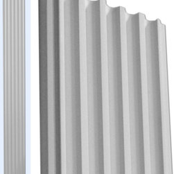 """Inviting Home - Wide Fluted Pilaster - fluted door-trim pilaster 7""""W x 6'6-3/4""""H x 1""""D This pilaster is made with outstanding quality and durability fluted pilaster for door trim made from high density polyurethane factory primed and ready to be finished with any quality paints. This pilaster is lightweight durable and easy to install using common woodworking tools."""