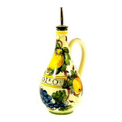 Artistica - Hand Made in Italy - FRUTTA FONDO MIELE: Olive Oil Bottle Toscana - FRUTTA FONDO MIELE: This whole collection was developed during our last Italian buying trip after we had seen just a single test sample.