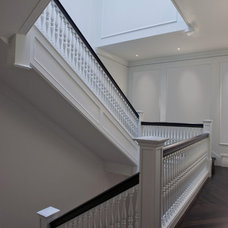 Traditional Staircase by dSPACE Studio Ltd, AIA