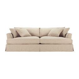 Arhaus Emory Grand Slipcovered Sofa - Dimensions 94.0ʺW × 46.0ʺD × 36.0ʺH