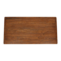 Wood Plank Table Tops - Wood Plank Table Top. Various shapes and sizes available. Various wood stains available. Designed by Shah Gilani, ASFD