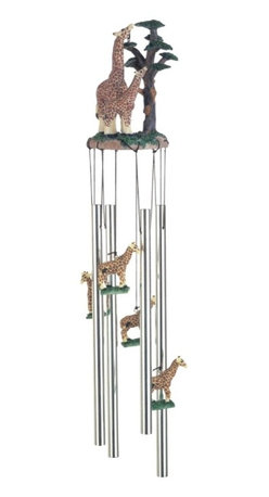 GSC - Wind Chime Round Top Giraffe with Baby Garden Decoration Windchime - This gorgeous Wind Chime Round Top Giraffe with Baby Garden Decoration Windchime has the finest details and highest quality you will find anywhere! Wind Chime Round Top Giraffe with Baby Garden Decoration Windchime is truly remarkable.