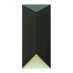 Hinkley - Hinkley Vento One Light Satin Black Outdoor Wall Light - 2185SK-LED - This One Light Outdoor Wall Light is part of the Vento Collection and has a Satin Black Finish. It is Dark Sky Compliant, and Outdoor Capable.
