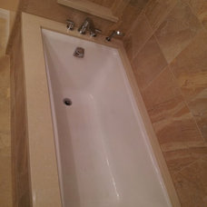 Contemporary Bathtubs by cappello plumbing