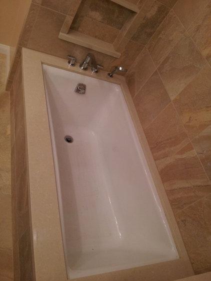 Contemporary Bathtubs by cappello plumbing