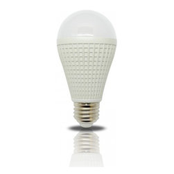 Lightkiwi - Lightkiwi S9355 A19 Warm White LED Light Bulb - 55 Watt Equivalent - The Lightkiwi™ A19 LED light bulb provides a warm white equivalent to 55 watt incandescent light bulb and lasts up to 25,000 hours while using at least 80% less energy.  This bulb is ideal for kitchens, living rooms, bedrooms, hallways, or any other places where you need standard household light bulb.