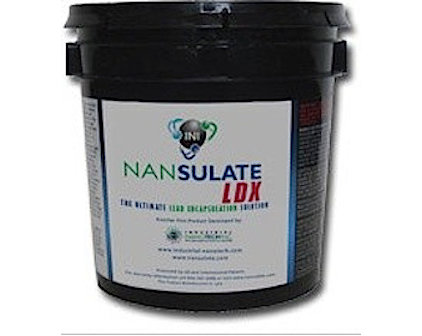 Nansulate LDX Clear Lead Encapsulation Coating for Lead Abatement