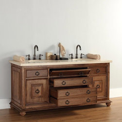 "72"" Mykonos Double Sink Vanity -"