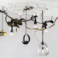 Eclectic Chandeliers by David Wiseman