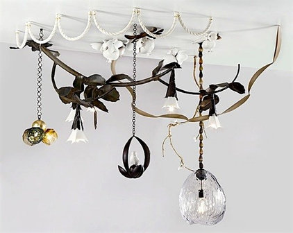 Eclectic Ceiling Lighting by David Wiseman