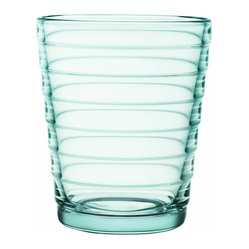 Aino Aalto Tumbler, Set of 2, 7.75 Oz. Water Green