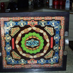 Square cigar band tray
