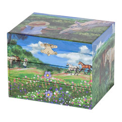 Mele Jewelry - Mele and Co. Annie Girl's Musical Horse Jewelry Box - Mele Jewelry - Jewelry Boxes - 00714F13B