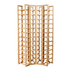 Richelieu - C52 - Corner Rack - Holds 52 Standard 750ml Bottles - Store 52 standard size 750ml bottles of wine in this corner rack.