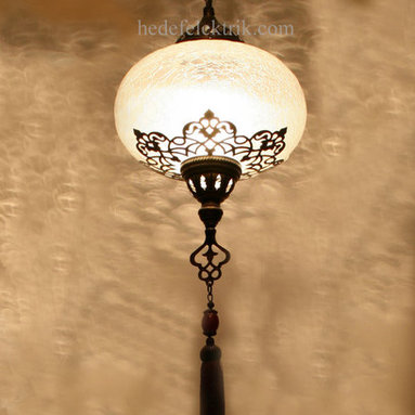 Turkish Style Ottoman Lighting Cylinder Lighting 22cm -