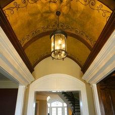 Traditional Entry by Kandrac & Kole Interior Designs, Inc.
