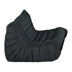 Modway - Waverunner Armchair in Black - Provide natural comfort at every gathering with a balanced set of functional symmetry. Observe as Waverunner interplays ergonomics with dense foam cushioning to precisely reflect full relaxation. Wander through the pathways of elucidation with a multi-layered environment of intricate folds and holistic positioning.