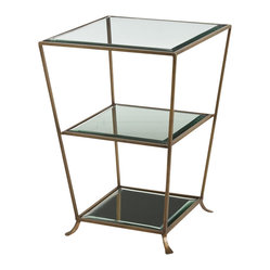 Nick Side Table, Brass
