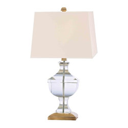 Hudson Valley Lighting - Hudson Valley Lighting L746-AGB Clyde Hill Aged Brass Table Lamp - Hudson Valley Lighting L746-AGB Clyde Hill Aged Brass Table Lamp