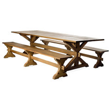 Traditional Dining Tables by Oak & Broad
