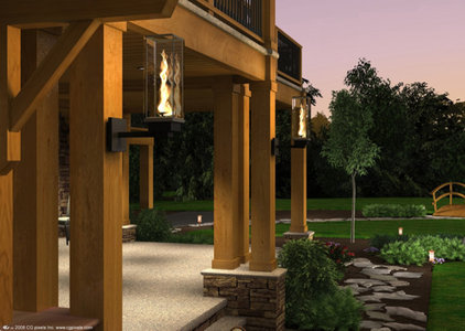 Mediterranean Outdoor Wall Lights And Sconces by PoolSupplyWorld.com