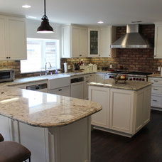 Traditional Kitchen by D'Ambra Construction