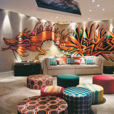 15 salas coloridas de Casa Cor 2011 - Casa.com.br