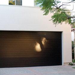 Los Angeles Custom Modern Garage Doors Amp Matching Entry Door System Project Dynamic Garage Door 855 343 3667