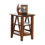 Riverside Furniture - Riverside Furniture Claremont Chair side Table in Toffee - Riverside Furniture - End Tables - 79512 - Riverside's products are designed and constructed for use in the home and are generally not intended for rental, commercial, institutional or other applications not considered to be household usage.