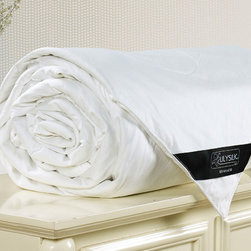 Silk Filled Duvets - Cover Fabric: High quality royal mulberry silk