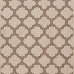 """Surya - Surya Alfresco ALF-9586 (Beige, Taupe) 7'3"""" Round Rug - The beautiful rugs in the Alfresco Collection can be used on the porch, deck, and patio or hose them down and use them in your kitchen, sunroom, or bathroom! This versatile collection offers rugs that are stain, humidity, and UV ray resistant. Complement your home dEcor with the beauty of Alfresco rugs that flow smoothly with your lifestyle. -100% Polypropylene -Outdoor -Made in Egypt"""