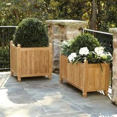 Transitional Outdoor Planters by Ballard Designs
