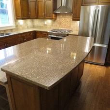Kitchen Countertops by VI Granite & Repairs