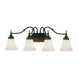 Trans Globe Lighting - Trans Globe Lighting 3934 ROB Bathroom Light In Rubbed Oil Bronze - Part Number: 3934 ROB