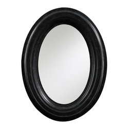 Stanley Furniture - European Farmhouse Oval Mirror - Bring the charm and the essence of by gone era to your living space with this classic European Farmhouse Oval Mirror - Available In Chalkboard Only. This oval shaped vintage mirror features age-old details, heirloom finish and heavy curved moldings which bring an impressive statement in any room settings.