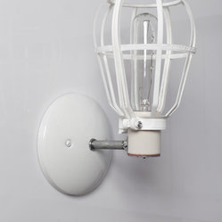 Industrial Wall Sconce - Cage Light