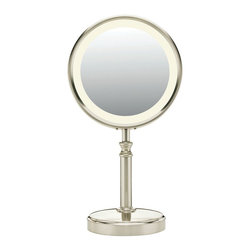 Conair BE116T Lighted Makeup Mirror, Satin Nickel - Personal Care - for the home -