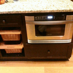 Werth Home - Clemson SC - The drawer microwave is a new hot item. We are putting a lot of these in homes now!