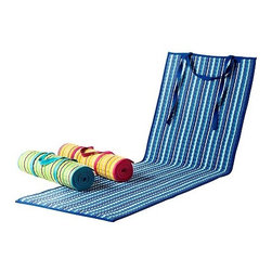 Lisel Garsveden - GRENÖ Chaise lounge pad - Chaise lounge pad, stripe, assorted colors