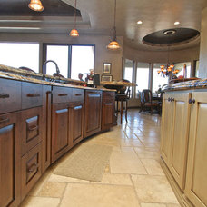 Traditional Kitchen Cabinets by Venuti Woodworking