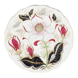 Royal Crown Derby - Royal Crown Derby Spring Serenade Accent Plate - Royal Crown Derby Spring Serenade Accent Plate