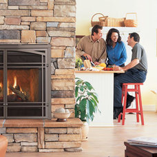 Modern Indoor Fireplaces by Estates Chimney Sweep, Inc.