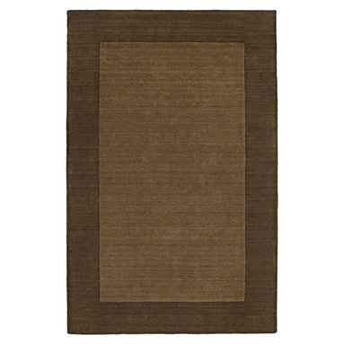 """Kaleen - Kaleen Regency Regency (Chocolate) 3'6"""" x 5'3"""" Rug - Regency offers an array of fourteen beautifully elegant subtle tones for today's casual lifestyles. Choose from rich timeless hues shaded with evidence of light brush strokes. These 100% virgin wool, hand loomed rugs are sure to add comfort and warmth to any setting. Hand crafted in India."""