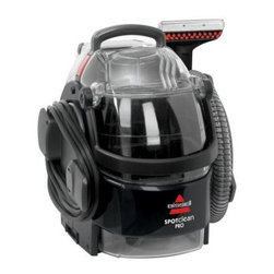 Bissell 3624 Professional Spot Cleaner Deep Clean Portable - The powerful Bissell 3624 Professional Spot Cleaner Deep Clean Portable is an effective way to clean spills and other messes from area rugs, upholstery, stairs, and more. It features an extra large tank capacity, durable plastic construction, and a conveniently lightweight and portable design that you can pick up and take anywhere there's a disaster. Includes 6-inch stair tool, 3-inch tough stain tool, and 8 ounces of deep cleaning formula for those troublesome spots.About BissellMelville Bissell patented the BISSELL carpet sweeper in 1876, the company's first mechanical sweeper ever conceived. Shortly after, he built the first Bissell manufacturing plant in Michigan and began helping Americans and all of the world suck it up and tackle the confounding and unhealthy problem of dust-laden carpets and floors. A technology and trend innovator in the field of home cleaning solutions for over 100 years, Bissell remains committed to bringing you the most advanced, effective, and practical solutions for keeping your home clean.