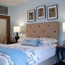 Beach Style Bedroom by Luv2Dezin LLC - Deziner Tonie - Decorating Den
